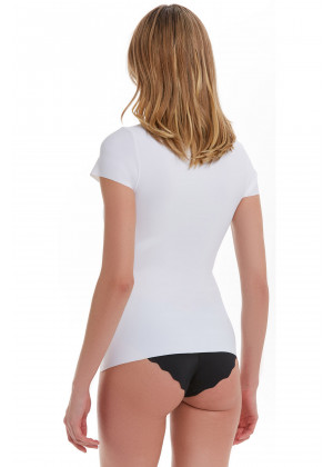 Korse T-Shirt / Beyaz