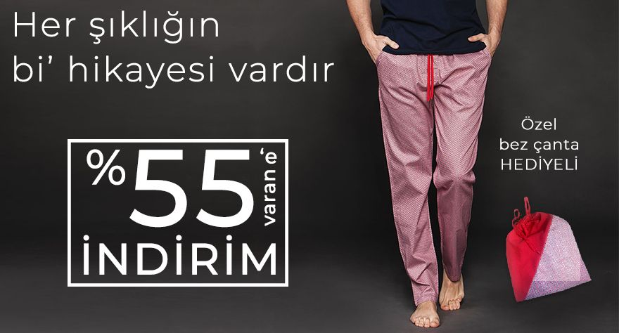 erkek pijama kampanya